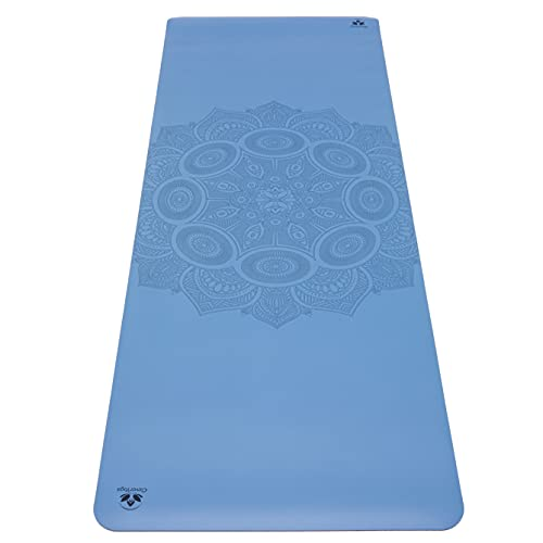 Clever Yoga Premium Non-Slip Yoga Mat Unbeatable Performance on Grippy Wide and Tall Yoga Mat, Made from Natural Tree…