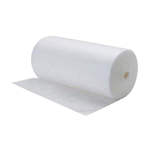 YeahiBaby Revestimiento de pañales de pañales desechables biodegradables de 100 hojas Revestimientos de pañales desechables (blanco)