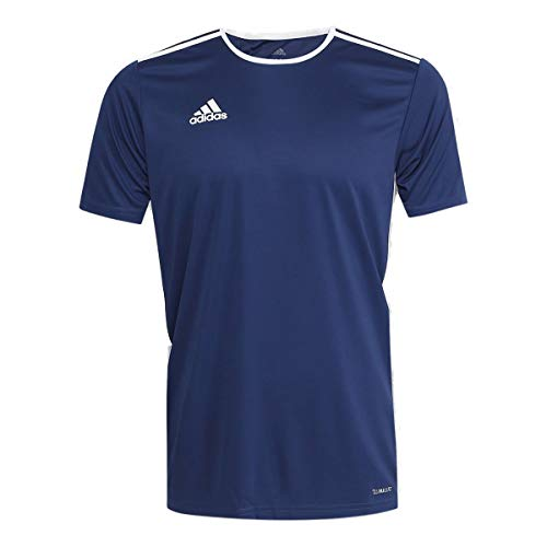 adidas Herren ENTRADA 18 JSY T-Shirt, Dark Blue/White, M