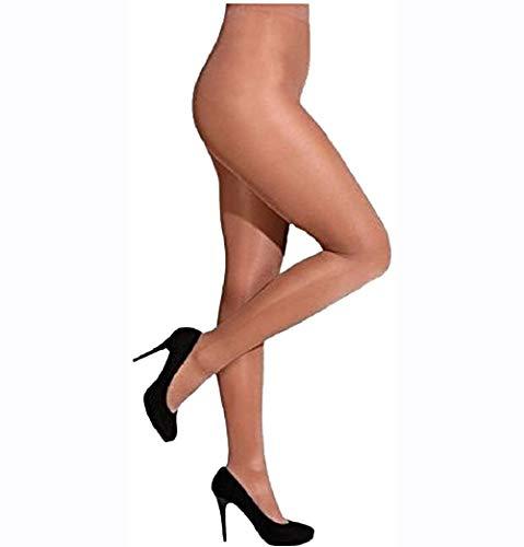 blickdichte Strumpfhose in verschiedenen Größen und Farben, Tanzstrumpfhose Gardestrumpfhose, Farbe:hautfarben / toast;Größe:L/XL