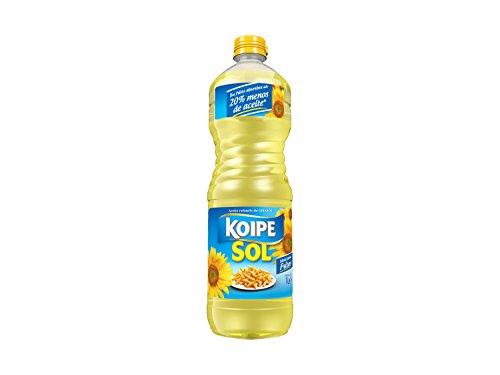 Koipe - Aceite refinado de girasol koipesol - 1 l - [pack de 5]