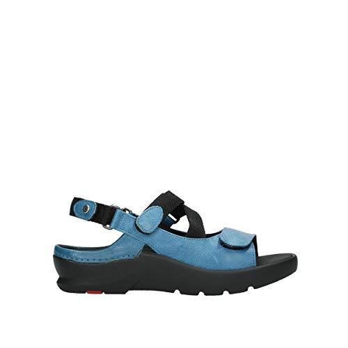 Wolky Comfort Sandalen Lisse - 35815 himmelsblaues Leder - 39