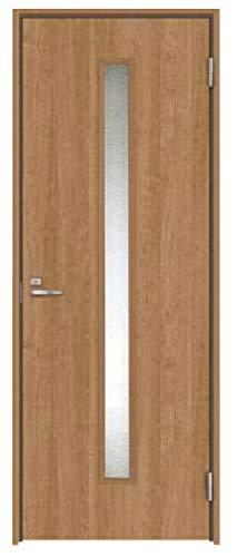 ハピア 音配慮ドア 居室タイプ 片開き 20デザイン 鍵付き 枠外幅:755mm×製品高:2,045mm 製品色:ティーブラウン(MT) 見切(ケーシング):見切D(壁厚149〜167mm用) 吊元:右開き(R) 鍵種類:表示錠 室内ドア DAIKEN 大