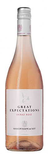 6x 0,75l - 2016er - Goedverwacht - Great Expectations - Shiraz Rosé - Robertson W.O. - Südafrika - Rosé-Wein trocken