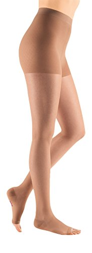 mediven Sheer & Soft, 15-20 mmHg, Comrpession Pantyhose, Open Toe