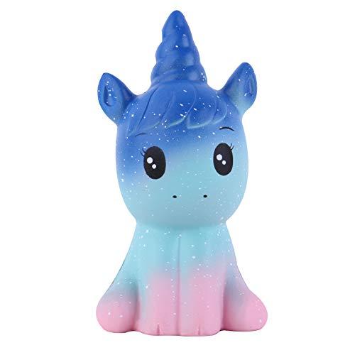 Anboor Squishies Unicornio Caballo Kawaii Suave Crecimiento Lento Perfumado Animal Squishies Alivio del estrés Juguete para ni?os