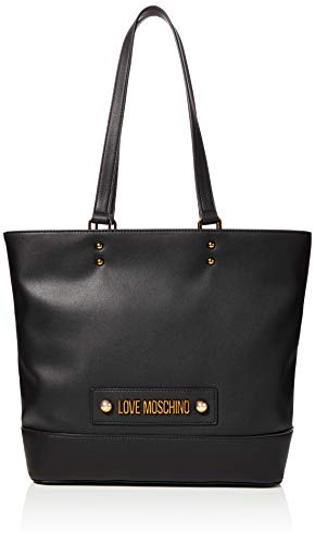 Love Moschino Damen Jc4030pp1a Tote, Schwarz (Nero), 12x29x38 Centimeters