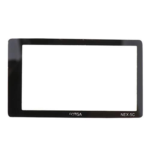 B Blesiya Protector de Pantalla LCD de Vidrio Templado para Cámara SLR Digital NEX-3 NEX-5