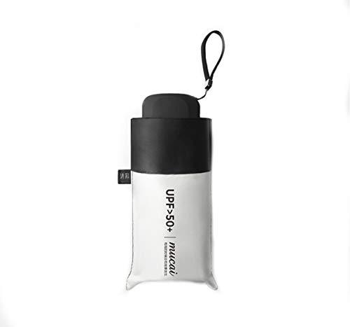 mucai 日傘 折りたたみ傘 ワンタッチ自動開閉 UVカット 遮光 折り畳み傘 紫外線遮断 耐風撥水 レディース 軽量 晴雨兼用 収納ポーチ付き