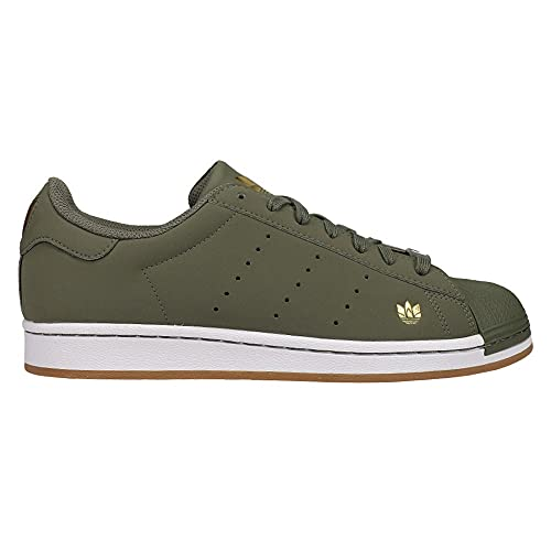 adidas Mens Superstar Pure Lace Up Sneakers Shoes Casual - Green - Size 8.5 D