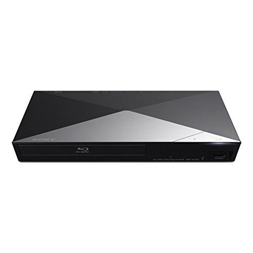 Sony BDP-S4200 - Reproductor de Blu-ray 3D Smart con entrada USB, conexión en la página de DVD y cable HDMI de 1,5 m