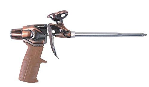GOBEST Heavy Duty PTFE Expanding Foam Gun, Brass Finish (GB-0003)