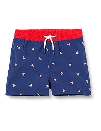 ZIPPY Short de Playa para bebé niño SS20 Pantalones Cortos, Twilight Blue 19/3938 TC, 12/18M para Bebés
