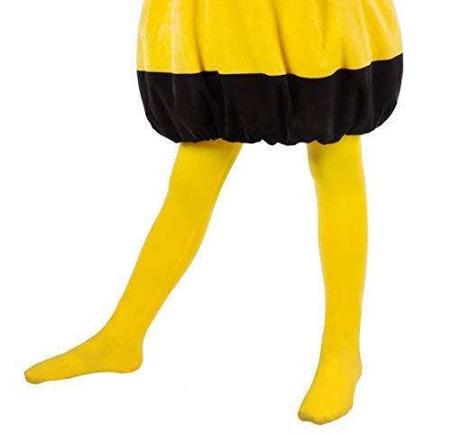 Maskworld Biene Maja - Strumpfhose für Kinder - Kostümzubehör- 122/140 (7-10 Jahre)