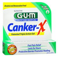 Gum Canker-X Pain Relief Gel, 8 ml (Pack of 4)