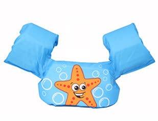 KAKAF Zwemvest voor kleine kinderen, zwemhulp, 10-25 kg, zwemriem, zwemvest zwemtrainer met veiligheidssluiting, voor kinderen en peuters, 2-6 jaar, jongens en meisjes (h)