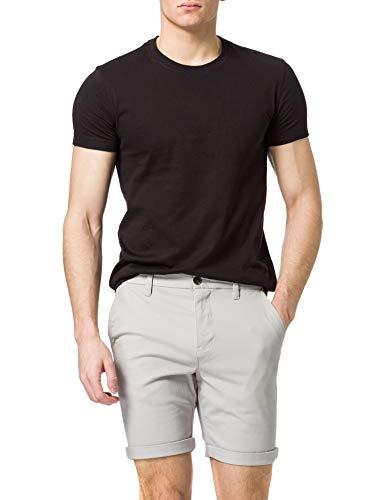 Amazon-Marke: MERAKI Herren Shorts Short Classic Chino, Grau (Taubengrau), S