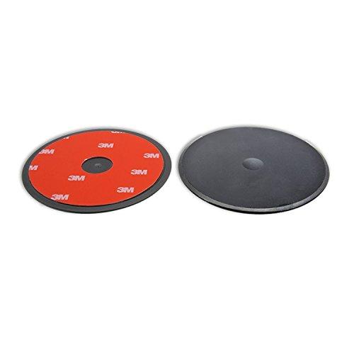Navitech 80 mm, runde, Selbstklebende Scheibe, universal einsetzbar für Noza Tec 5 inch