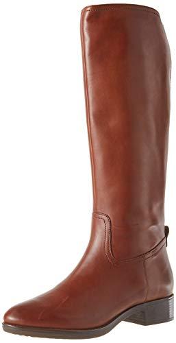 Geox Damen D Felicity A Knee High Boot, Braun (Brown), 40 EU