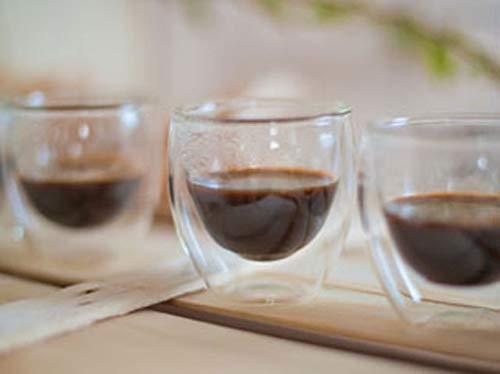 WD Lifestyle Linie Zubehör Set 6Gläser, doppelwandig, Glas, transparent, 6.5x 6.5x 6.5cm