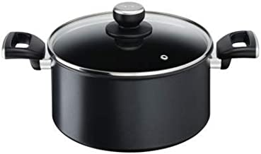Tefal G25546 Unlimited IH Stewpot with Lid, 24cm, Black