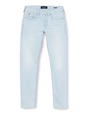 Scotch & Soda Mens Ralston Jeans, Light of Day 3680, 34W/ 32L