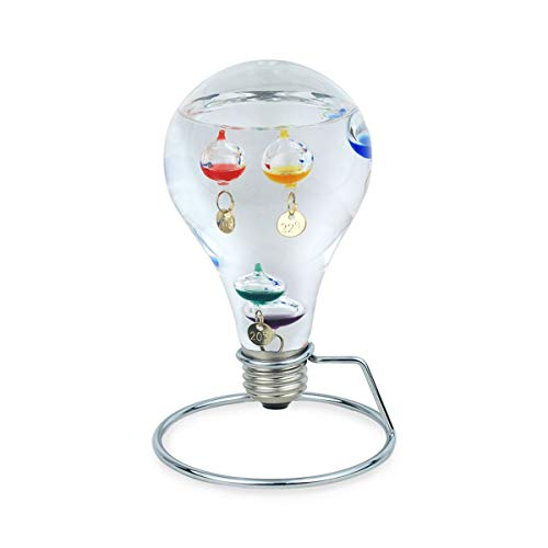 Decor and Go Galileo thermometer van glas, eenheidsmaat