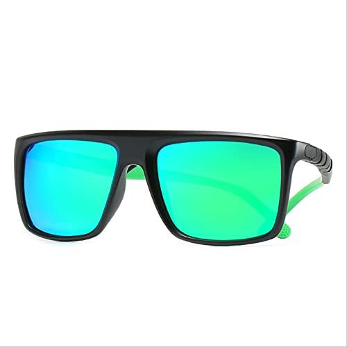ODNJEMSD Gafas De Sol Retro Polarizadas Gafas De Sol para Hombre Gafas De Sol Deportivas De Inyección Bicolor