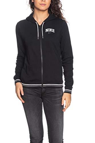 Nike Kapuzenpullover MIT REIVERSCHLUSS Damen SCHWARZ BV3984010