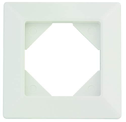 REV Ritter 0236810104 REV Quadro 1-Fach Rahmen weiß Oberputzinstallation