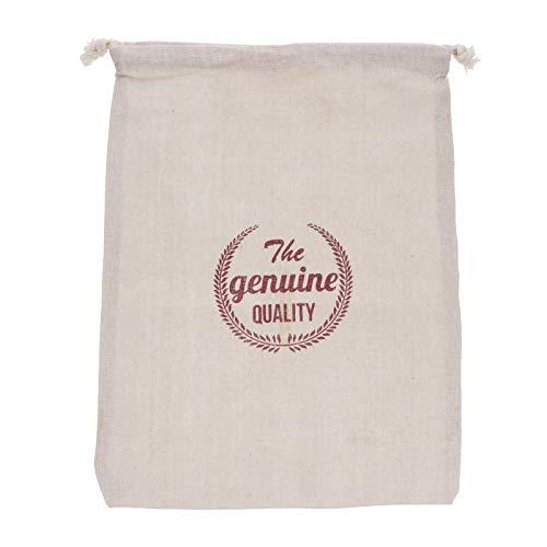 VALICLUD Stilvoll 1Pc Leinen Brottasche Wiederverwendbare Kordelzug Tasche Hausgemachte Brot Aufbewahrungstasche