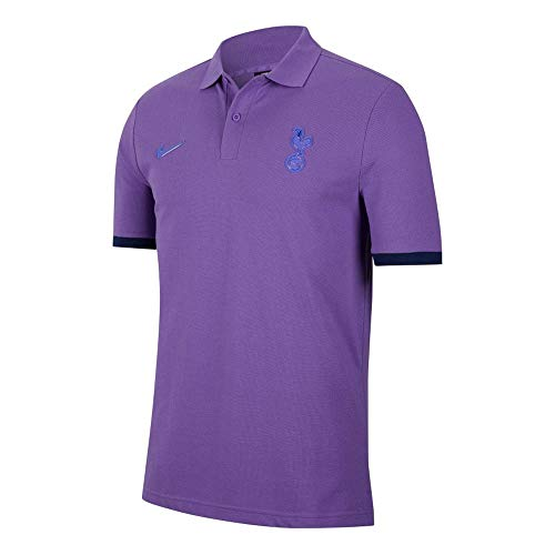 Nike Thfc M NSW Polo Pq Cre, Unisex niños, Action Grape/Binary Blue/Action Grape, L