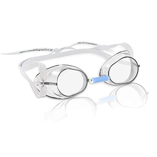 Beco Schwedenbrille antibeschlag Occhialini, Unisex, bianco, Taglia unica