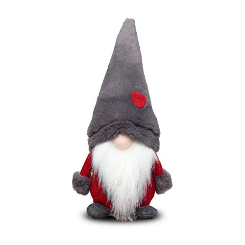 Amazlab Swedish Santa Gnome Plush, Handmade Scandinavian Tomte Nordic Nisse Sockerbit Elf Dwarf Home Household Ornaments, Christmas Santa Decoration