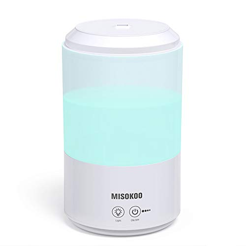Humidifiers for Bedroom Kids, 3L Ultrasonic Humidifier Cool Mist Top Fill. Air Humidifier with Essential Oils Diffuser|Super-Quiet|Easy Clean|Over 20 Hours|Auto Shut-Off|