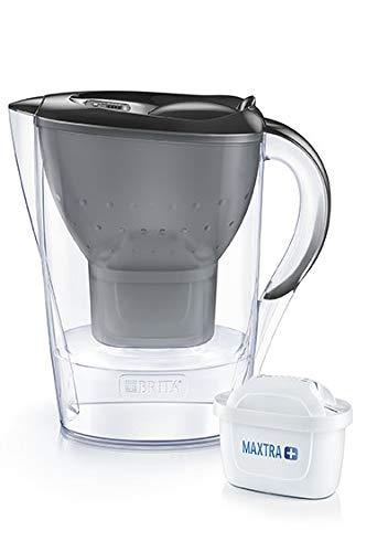 BRITA Marella Graphite - Jarra de Agua Filtrada con 4 cartuchos MAXTRA+...