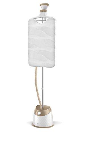 Philips gc524/60 – Dampfgarer senkrecht, Dampf, 5 Ebenen mit Kleiderbügel spezielle für Kleidungsstücke, 1600 W, Weiß [Energieklasse A+++] FR Version