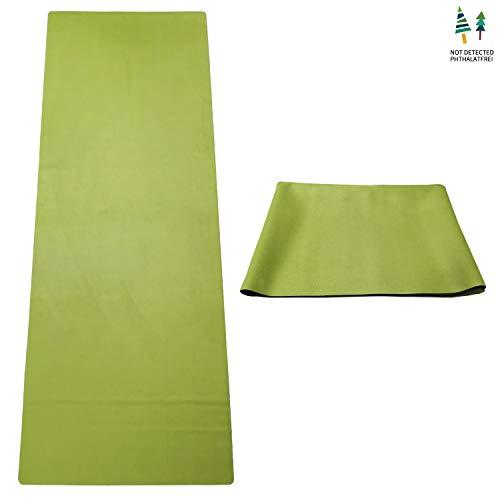 GOLDEN Esterilla de Yoga para Viajes, Plegable, Natural Caucho 1/17...