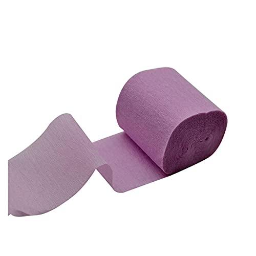 Papel crepe 10m x 5 cm Origami Crepe Streamers de papel DIY Crafts Rollo de papel arrugado para la decoración de la fiesta de cumpleaños de la boda Cortina de telón de fondo 7 Decoración artesanal