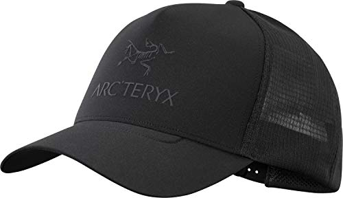 Arc'teryx Unisex-Erwachsene Logo Trucker Hat Kappe, schwarz, Einheitsgröße