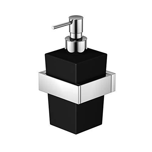 Steinberg Série 460 Distributeur de Savon pour Montage Mural, Noir - 4608002
