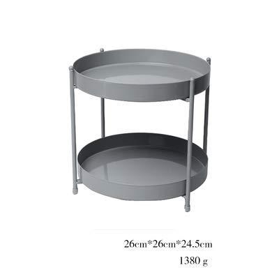 Badkamer opbergrek dubbele wastafel rek cosmetica opslag plank badkamer hoekrek Grijs