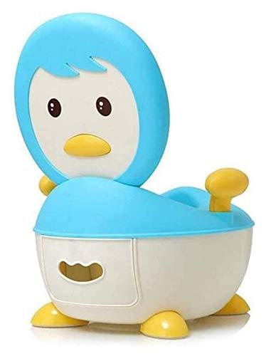 Aseo Multi Funcional Bebé Potty Training Aseo para Niños Niños Niños Chicas Lindo Potty Silla Asiento Step Taburete (Color : Blue)