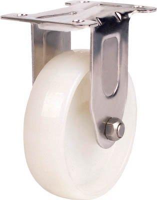 SAMSONG CASTER ステンレス用キャスター 固定 ナイロン車100mm (1個) TP5140R-NYL-SUS