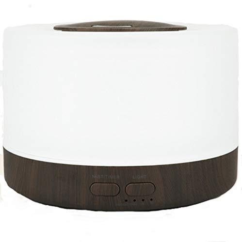 500ml Aroma Diffuser Luftbefeuchter Raumbefeuchter Diffusor Ultraschall Duftlampe mit 8 Farben LED für zuhause Yoga Büro SPA Schlafzimmer EU Plug