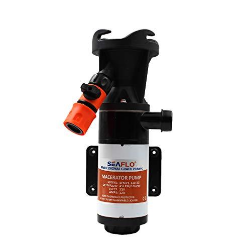 Homyl Wasserdruck-Membranpumpe Selbstansaugende Macerator-Pumpe RV-Bootsanhänger