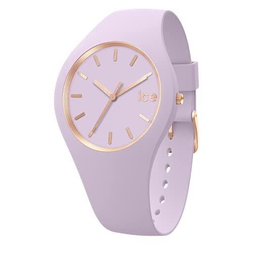 Ice-Watch - ICE glam brushed Lavender - Reloj morado para Mujer con Correa de silicona - 019531 (Medium)