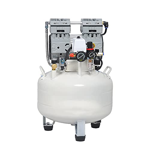 WUK Portable Air Compressor 30/35 L Small No Oil Mute Dental Air Compressor 680/850W Woodworking Paint Air Pump Automatic Power-Off Protection