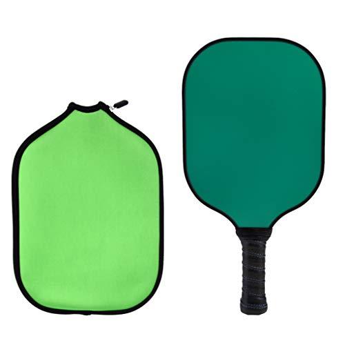 Sharplace Paleta Y Cubierta de Pickleball con Núcleo Compuesto de Nido de Abeja de Fibra de Carbono - Verde