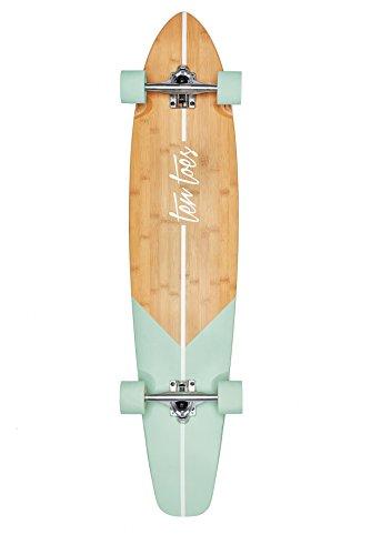 Retrospec Zed Bamboo Longboard Skateboards Cruiser